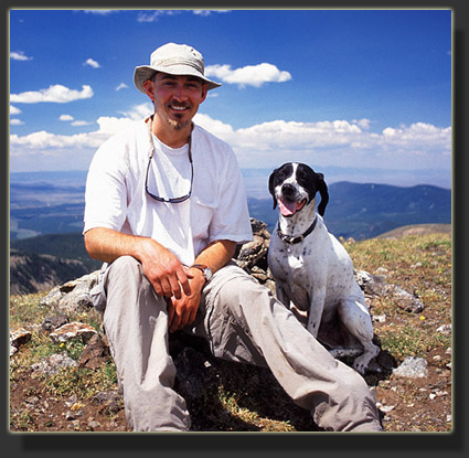 Sam & Frank on Parika Peak, 2004