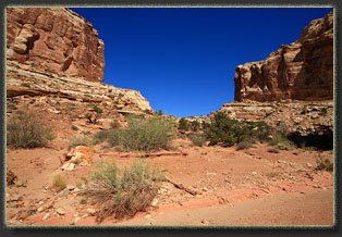 Bell and Little Wild Horse Canyons, Utah