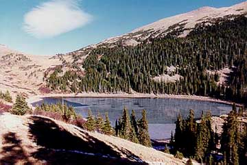 Blue Lake, Rawah Wilderness