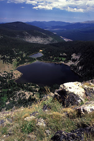 Brown and Timberline Lakes...Comanche Res beyond