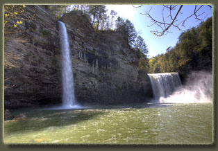 Cane Creek Falls, TN
