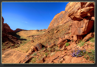 Coyote Gulch, Glen Canyon National Rec Area, Utah