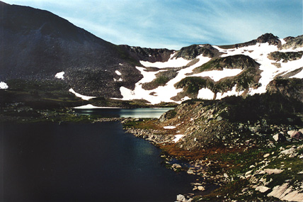 Twin Crater Lakes, Colorado