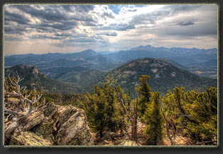 Dark Mountain, Rocky Mt National Park, Colorado