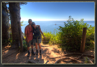 Hiking from Ecola Point to Tillamook Head