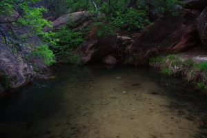 Emerald Pools Hike, Zion National Park