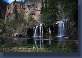 Bridal Veil Falls and Hanging Lake