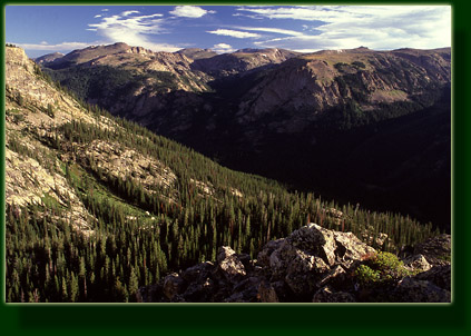North Inlet Drainage and Continental Divide, Rocky Mountain National Park