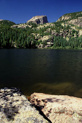 Bear Lake and Hallet Peak, Rocky Mountain National Park