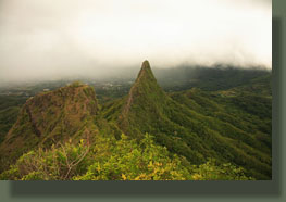 Second and third peaks of Olomana