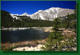 Sandbeach Lake, Rocky Mt National Park, Colorado