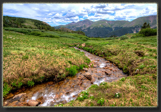 Second Creek trail near Berthoud Pass, Colorado