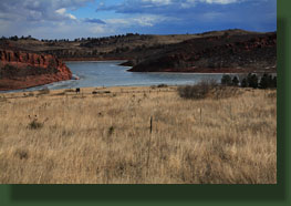 Horsetooth Reservoir near Soldier Canyon