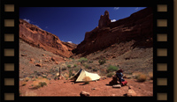 Syncline Valley Camp