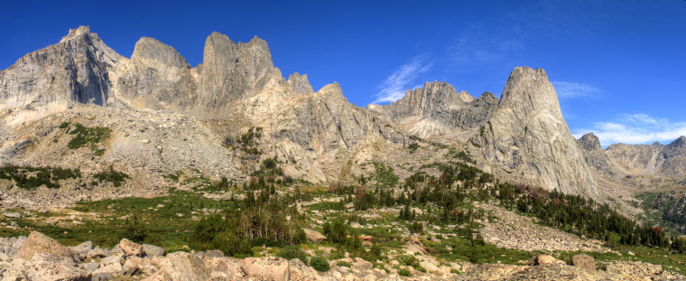 Cirque of the Towers, WY