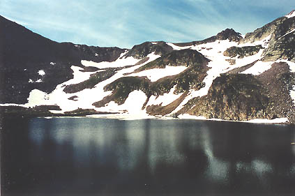 Upper Twin Crater Lake