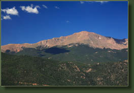 Pikes Peak from Waldo Canyon Trail