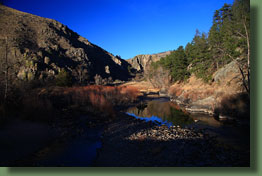 Gateway Park on the North Fork of the Poudre River