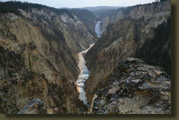 Lower Falls and the Grand Canyon of the Yellowstone