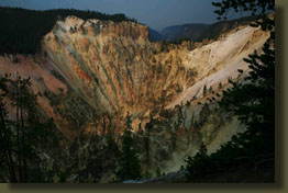 Yellowstone Canyon near Artist's Point