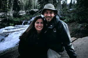 Andra and Sam in the Mt Zirkel Wilderness